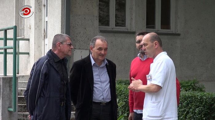 Poseta Opštoj bolnici Čačak i Gradonačelniku