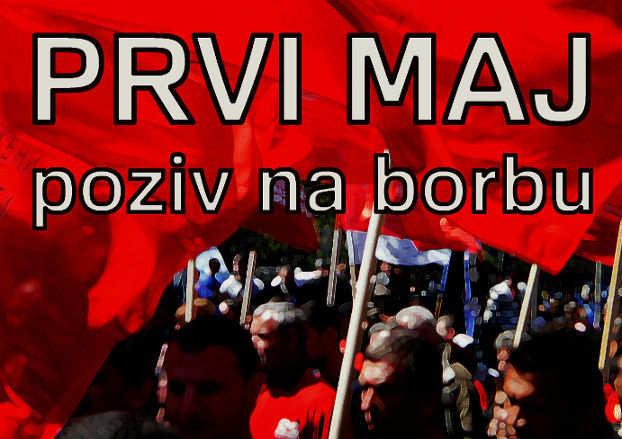 Na protest 1. maja (obaveštenje)