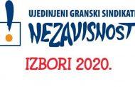 UGS Nezavisnost i izbori 21. juna 2020. godine